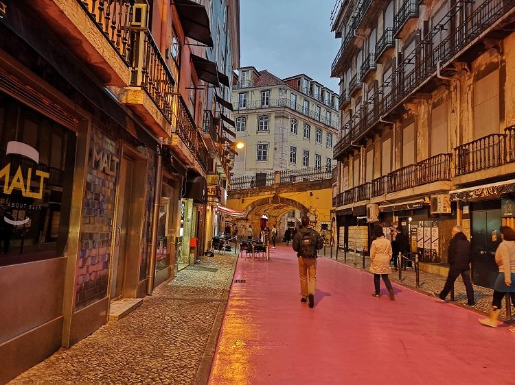 Rózsaszín utca